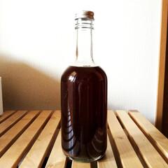 梅/梅酒/ラム酒/黒糖 初夏に梅シロップもたくさん作っておいたの…