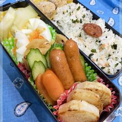 「お弁当🍙143  やっと金曜日🌞   ★…」(1枚目)