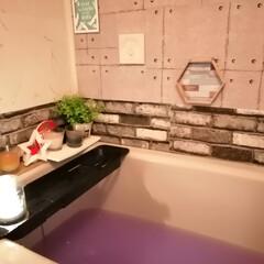 休日の過ごし方/浴室インテリア/風呂/ダイソー/セリア/DIY/... 癒しの空間😌♨️
