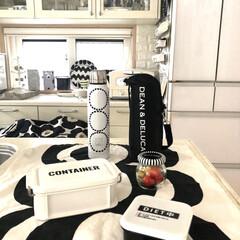 マリメッコ マグカップ コップ 250ml 食器 UNIKKO ウニッコ ベージュ×グレー 63431 890 名入れ可有料 | marimekko(マグカップ)を使ったクチコミ「今月からお仕事始めました。 仕事の日はお…」