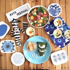 イッタラ カステヘルミ ボウル 230ml クリア | イッタラ(バット)を使ったクチコミ「こどもの日ごはん🎏   ちらし寿司に茶碗…」