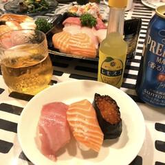 イッタラ/子供の好物/レモスコ/ビール/寿司/おうちごはん 昨日は子供達リクエストごはん 食べたいと…