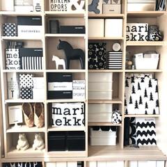 HIGHTIDE / ハイタイド / ポーラーベアーマネーボックス / シロクマ 貯金箱 / 白くま | HIGHTIDE(その他収納、ラック)を使ったクチコミ「二階の書斎のブックシェルフ おうち時間で…」