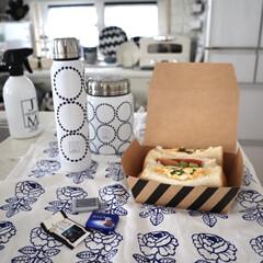 ジェームズマーティン フレッシュサニタイザー 500ML スプレー | JAMES MARTIN(トリートメント、ローション)を使ったクチコミ「仕事の日はお弁当🍱 サンドイッチ弁当に🥪…」