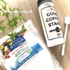 ホタテのおくりもの 550g 東急ハンズ(台所用洗剤)を使ったクチコミ「【ホタテのおくりもの】 野菜🍅🥒🍆を洗う…」
