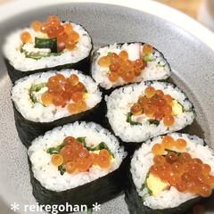 木村硝子店×イイホシユミコ dishes 180 plate | 木村硝子(お子様プレート、皿)を使ったクチコミ「晩ごはん。  お寿司🍣に飢えてる我が家 …」