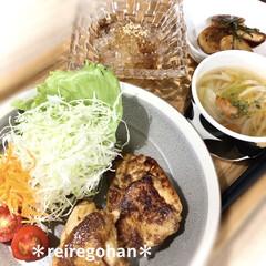 木村硝子店×イイホシユミコ dishes 180 plate | 木村硝子(お子様プレート、皿)を使ったクチコミ「晩ごはん ⭐️タンドリーチキン ⭐️キャ…」
