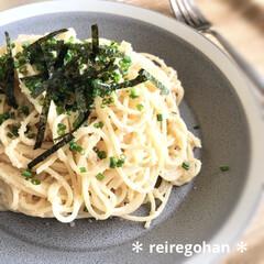 木村硝子店×イイホシユミコ dishes 180 plate | 木村硝子(お子様プレート、皿)を使ったクチコミ「今日も家族みんなで おうちごはん🍝 お昼…」
