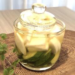フェイクグリーン シサス シュガーバイン ガーランド(人工観葉、フェイクグリーン)を使ったクチコミ「暑いとサッパリしたものが食べたくなります…」