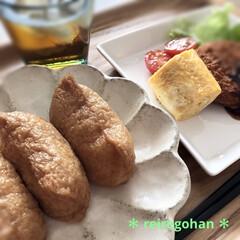 器好き/リンカ/だしまろ酢/いなり寿司/節約ごはん/手抜きごはん/... いつかの朝ごはん。  今は自粛中だけど、…