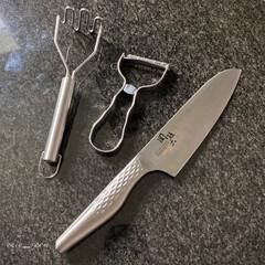 貝印 KAI T型 ピーラー SELECT100 DH-3000 | 貝印(その他キッチン、台所用品)を使ったクチコミ「キッチングッズ   お気に入りのキッチン…」