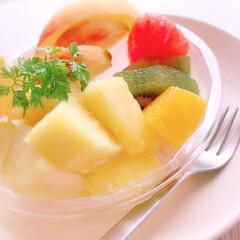 ビタミン/スーパー/お手軽/フルーツ/カットフルーツ/生活の知恵/... お手軽ビタミン☆カットフルーツ☺︎  ス…