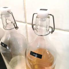 キッチン雑貨/イケア/IKEA/テプラ/ラベル/ラベリング/... .。*♡調味料詰め替えボトル♡*。.  …