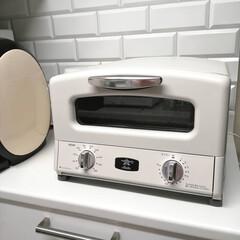 AGT-G13A オーブントースター アラジン Grill & Toaster 新グラファイト グリル&トースター 4枚焼き Aladdin ホワイト AGTG13AW | アラジン(トースター)を使ったクチコミ「.。*♡アラジントースター♡*。.  新…」