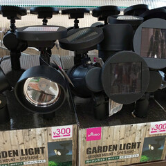 ガーデンライト/ソーラーライト/雑貨/100均/ダイソー/ダイソーアイテム/... 電池不要のソーラーライト。 ダイソーには…