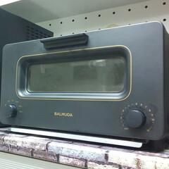 バルミューダ ザ・トースター BALMUDA The Toaster K01E-KG(ブラック) | BALMUDA(トースター)を使ったクチコミ「ブラックがかっこいい バルミューダのトー…」