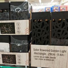 ガーデニング雑貨/ソーラーライト/ダイソー大好き/ダイソーアイテム/ダイソーパトロール/雑貨/... 電池不要のソーラーライト。 ダイソーには…