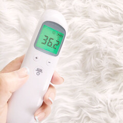 センサー式体温計/体温計/感染予防/おうち時間/体調管理/非接触/... 赤外線センサーによる非接触体温計を購入し…