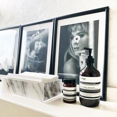 レバレンス ハンドウォッシュ(ハンドソープ)を使ったクチコミ「プライベートのバスルーム 無印良品のアク…」
