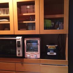 Francfranc/食器棚/TOFFY フランフランの食器棚。 電子レンジをオシ…