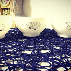 お茶碗 家族。