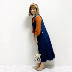 ファッション/おすすめアイテム #古着mixコーデ  大好きデニムジャン…(1枚目)