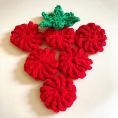かぎ編み コイル編みしたけど 何作ろうか(๑˙―˙…