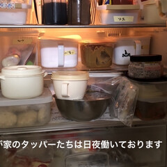 タッパー収納/タッパー/おうちごはん 今日の朝ごはんはドックパンにチキンナゲッ…(2枚目)