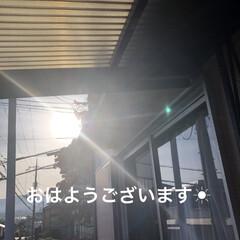 モーニングセット/にこ/猫飼いのしあわせ/癒し/黒猫/くろ/... おはようございます☀ 良いお天気です。 …