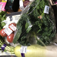 タコ飯/お魚屋さん/野菜 たっぷりお野菜買ってきました。 そして今…(1枚目)