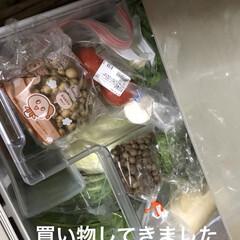 野菜室/冷蔵庫の中 昨日野菜室がガラガラになり明日のカレー曜…(3枚目)