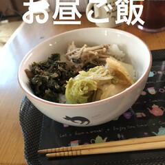 晩ご飯/黒猫/癒し/猫飼さんのしあわせ/にこ 今日も一日まったり過ごしてました。 お昼…(1枚目)