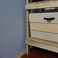 スクエアボックス/DAISO/ダイソー/セリア/Seria/収納/... 簡単に木箱作りたい 材料費をかけたくない…