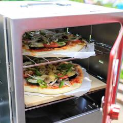 キャンプ/クッキング/ピザ/外出自粛 自宅でキャンプクッキング ピザを焼いてみ…