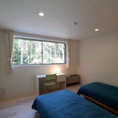 別荘/週末住宅/セカンドハウス/富士山/山梨/ベッドルーム/... 富士山麓の別荘|ベッドルーム