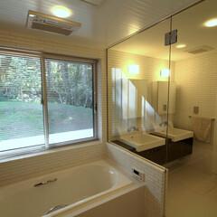 別荘/週末住宅/セカンドハウス/建築/設計/建築家/... 富士山麓の別荘|バスルーム