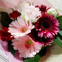 誕生日プレゼント/花束 3月28日は私の誕生日だったのですが、今…