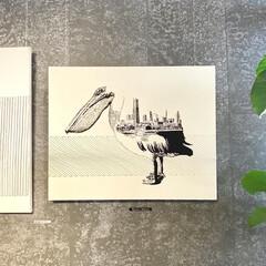 ポスター/アート/展示会/個展/アートのある暮らし/ペリカン/... 横浜ベイサイドの三井アウトレット内にある…