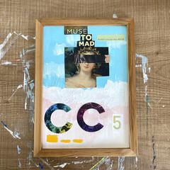 コラージュアート/コラージュ/インテリア雑貨/インテリア/アートのある暮らし/アート/... 新しいアーティスト👨🎨の作品も少しずつ…