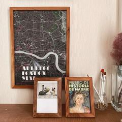 ポストカード/お土産/壁掛けアート/壁掛け/インテリア小物/インテリアコーディネーター/... 旅先の思い出をフレームに入れるだけで、ク…