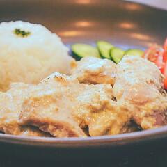 インド料理/アジアン料理/アジアン料理レシピ/アジアンレシピ/チキン/鶏肉レシピ/... 「コクうま鶏もものチキンマライティッカ風…