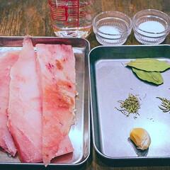 主菜/魚/刺身/マグロレシピ/マグロ/まぐろ/... もちっとおいしく、お酒のお供に♪ 見た目…(4枚目)