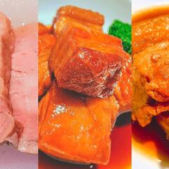 おうちごはん/おうちご飯/低温調理/真空低温調理/低温調理器/boniq/... 🏆【低温調理ならではの豚ばら肉レシピ】人…(1枚目)