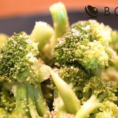 おうちごはん/おうち時間/簡単レシピ/簡単料理/ブロッコリーレシピ/ブロッコリー/... 「ブロッコリーとアスパラガスのごま和え」…
