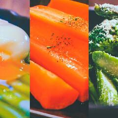 「📌同時調理で副菜作り置き❗️【85℃の低…」(1枚目)