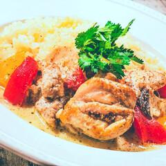 おうちごはん/タイ料理/アジアン料理/タイ料理レシピ/夏ごはん/夏レシピ/... 「鶏もものココナッツミルク煮」   食欲…