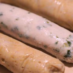 サラダチキン/レシピ/ダイエット/ヘルシー/栄養/栄養食/... 「サラダチキンスティック」  混ぜて入れ…