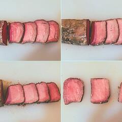 おうちごはん/牛もも肉/牛肉レシピ/低温調理/真空低温調理/低温調理器/... いつもご視聴ありがとうございます😊 本日…