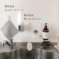 マーチソンヒューム Murchison-Hume HEIRLOOM DISHWASHING LIQUID 480ml ヘアルームディッシュ ウォッシング リキッド   フジイ(台所用洗剤)を使ったクチコミ「現在のキッチンはこんな感じ  ハンドソー…」(1枚目)