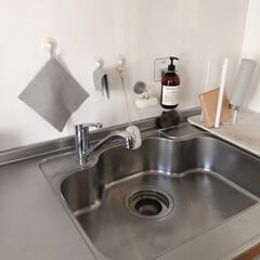 マーチソンヒューム Murchison-Hume HEIRLOOM DISHWASHING LIQUID 480ml ヘアルームディッシュ ウォッシング リキッド   フジイ(台所用洗剤)を使ったクチコミ「現在のキッチンはこんな感じ  ハンドソー…」(3枚目)